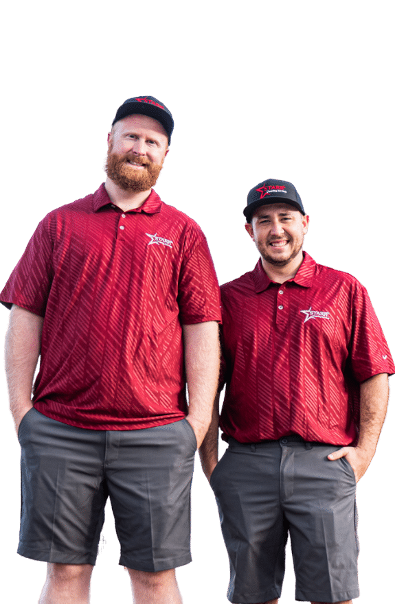 Austin and Jake Starr carpet clean owners